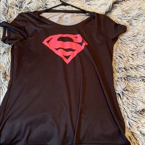 Under armor super hero shirt